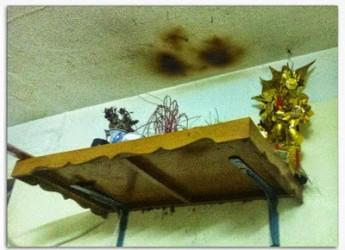Năm mới không nên để trần nhà ám khói đen